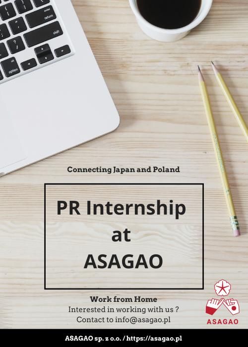 PR Internship at ASAGAO